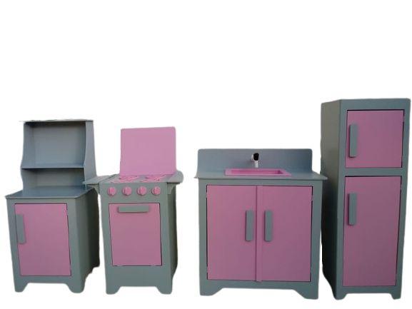 Kit Cozinha Infantil 4 Peças