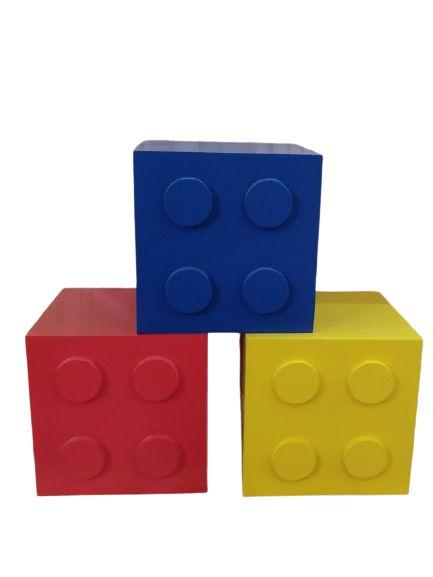 Cubo Lego 15 x 15 Cm