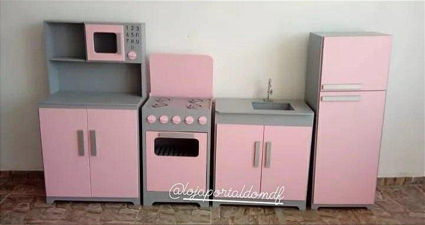 Kit Cozinha Infantil G 4 Peças