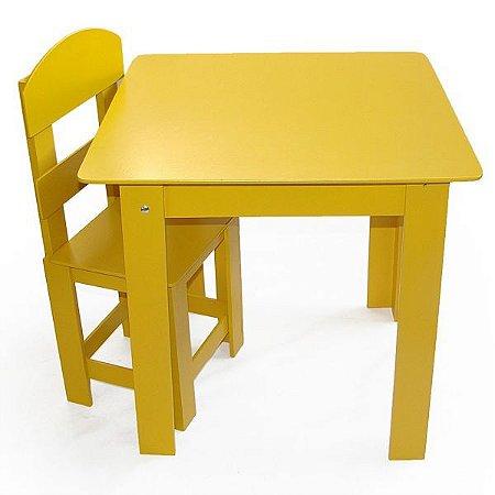 Mesa Infantil Com 1 Cadeira