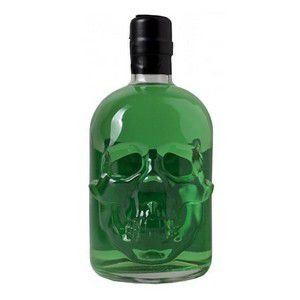 Licor Absinto Skull Vermelho ou Verde 500 Ml