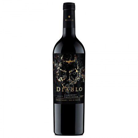 Vinho Chileno Diablo Black Cabernet Sauvignon 750Ml - Concha Y Toro