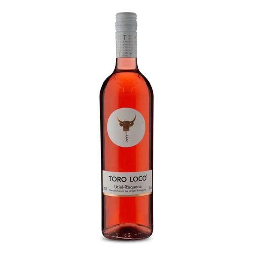 Vinho Espanhol Toro Loco Utiel-Requena Rosé 750M