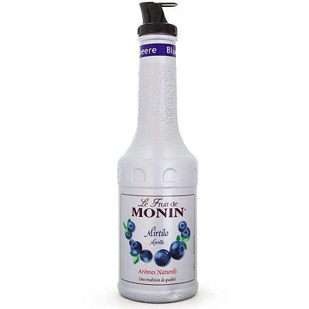Pure Monin Mirtilo 1 Litro - Blueberry
