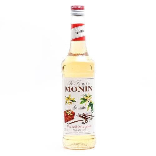 Xarope Monin Baunilha 700Ml
