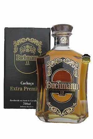 Cachaça Buchmann Extra  Premium 12  Anos 700ml