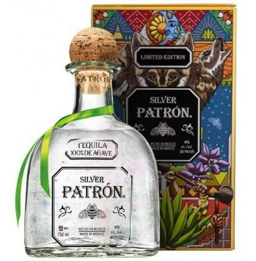 Tequila Patrón Silver 750ml - Edição Limitada Com Lata