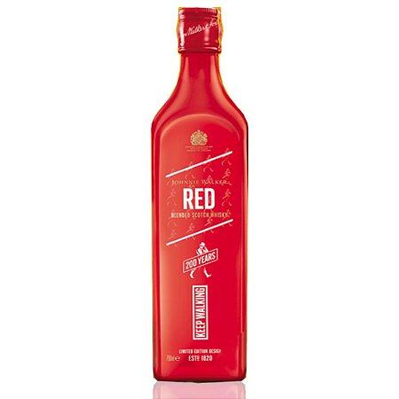 Whisky Johnnie Walker Red Label 750ml - Edição Limitada 200 Anos