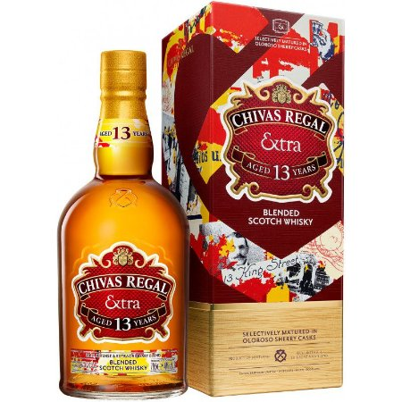 Whisky Chivas  Regal Extra 750ml - 13 Anos