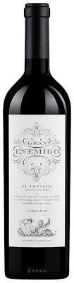 Vinho Tinto Gran Enemigo Gualtallary Cabernet Franc 750ml