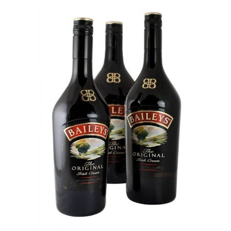 Licor Baileys Irish Cream 750 ml - Kit com 3 (três) Unidades