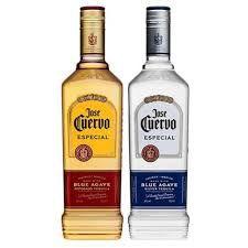 Tequila José Cuervo Ouro 750ml + Tequila José Cuervo Prata 750ml