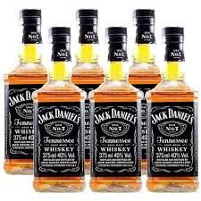 Whisky Jack Daniel's Tennessee 375Ml - Kit com 6 unidades
