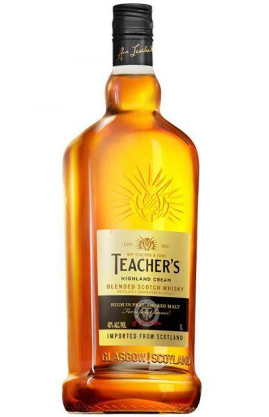 Whisky Teacher's Highland Cream Escocês 1 Litro