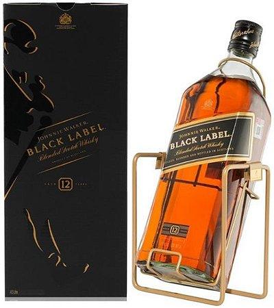 Whisky Johnnie Walker Black Label 12 Anos 3 Litros.