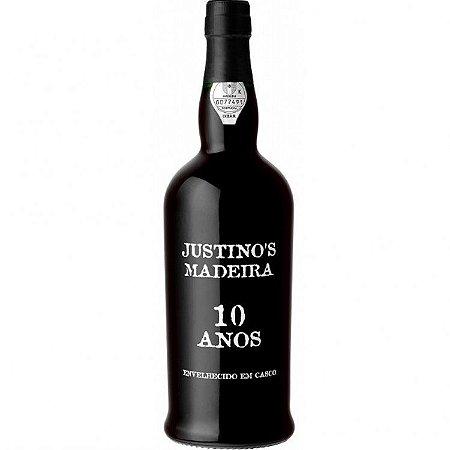 Vinho Justino's Madeira 10 Anos - Doce 750Ml