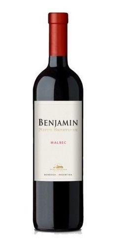 Vinho Tinto Seco Benjamin Nieto Senetiner Malbec 750Ml
