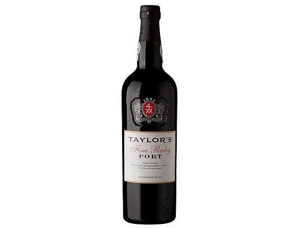 Vinho Porto Taylor's Fine Ruby 750ml