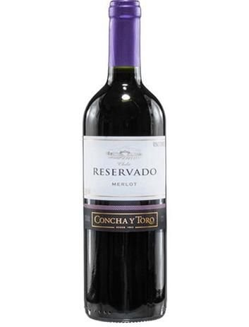 Vinho Tinto Concha y Toro Reservado Merlot 750 ml