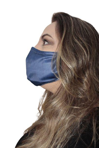 Máscara Bauxita antiviral, modelo anatômico/oval, dupla camada, fácil respiração, confortável
