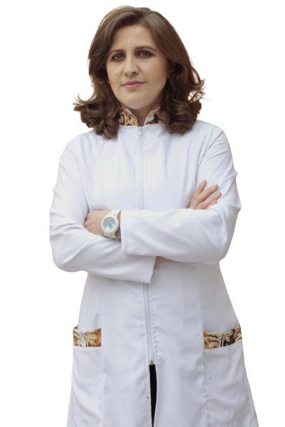 Jaleco Olho de tigre feminino, gola e bolso em tecido acetinado, com faixa de amarrar na cintura