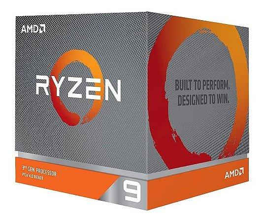 PROCESSADOR AMD RYZEN 3900-X 12 NÚCLEOS 24 THREADS