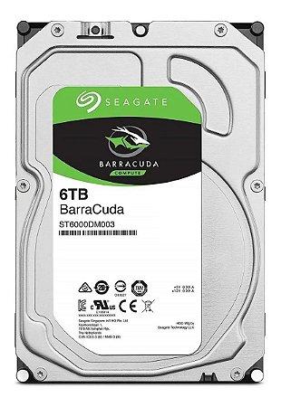 HD SATA 6TB SEAGATE HDD 7200RPM