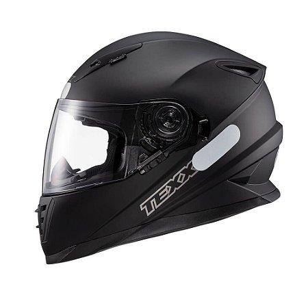 Capacete Moto Texx Wing Solid Dupla Viseira