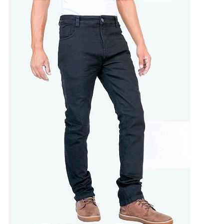 Calça Moto Jeans Kevlar Com Proteçao Corse Black