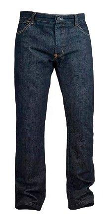 Calça Moto Jeans Kevlar Com Proteçao Corse Dark Azul Escuro