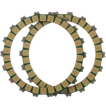 Discos Embreagem Oem Ji 2 Pecas Crypton 115 2010 A 2011
