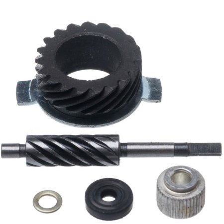 Engrenagem Velocimetro Kit C/pinão E Motriz Aço Biz 100