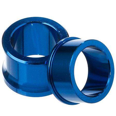 Espaçador Roda Dianteira Yz 125 250 Yzf 250/450 07-13 Azul
