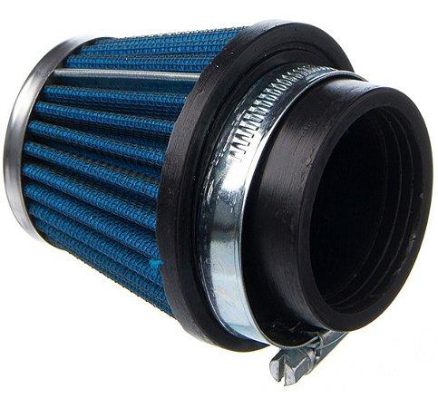 Filtro Ar Esportivo Cônico Cg Fan Titan Ybr 125 45mm Eksim