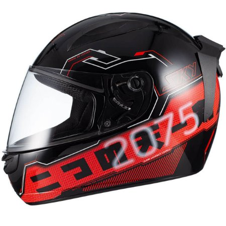 Capacete Moto Fechado Sky Esportivo Two Sorah