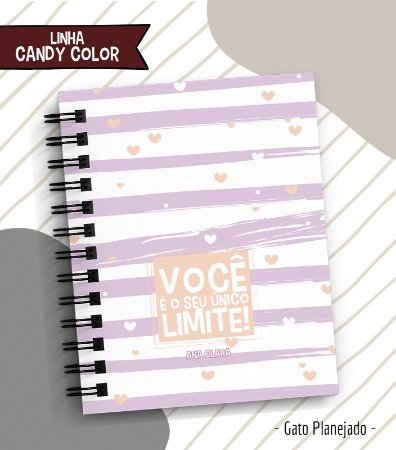 Planner Candy Color - Compacto