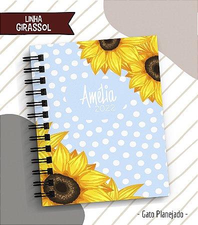 Caderno Girassol