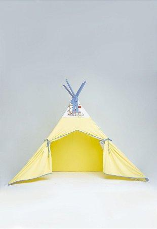 Cabana Infantil Amarela