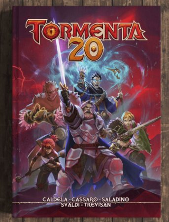 Livro RPG Tormenta20 Livro Básico Jambo editora Capa Dura