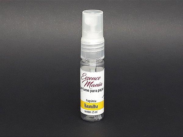 Perfume para papel - Fragrancia Baunilha - 15ml - Essence Mania