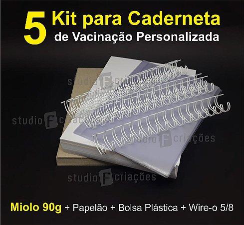 05 Kit Insumos Caderneta 90g