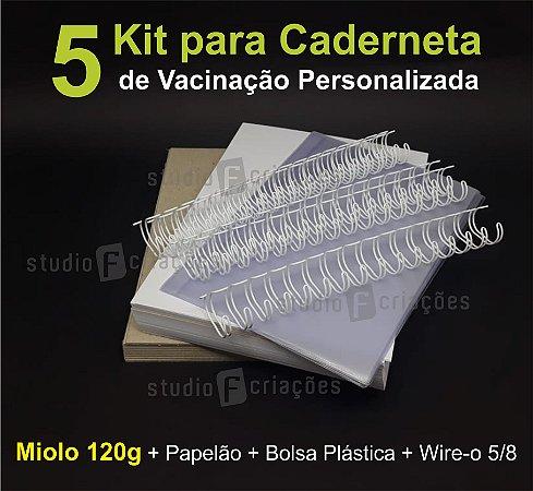 05 Kit Insumos Caderneta 120g