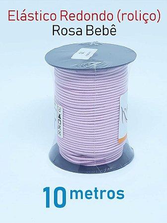 Elástico REDONDO ROSA BEBE (medida 10 metros)