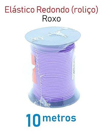 Elástico REDONDO ROXO (medida 10 metros)