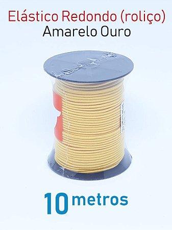 Elástico REDONDO AMARELO OURO (medida 10 metros)