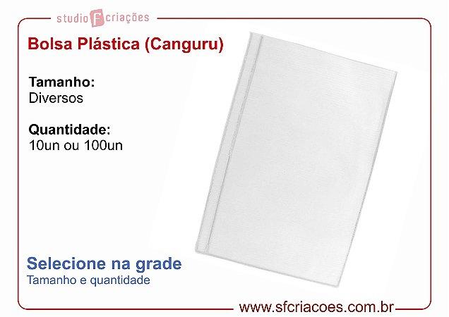 Bolsa Plastica - bolsa canguru (Selecione o formato e quantidade na grade)