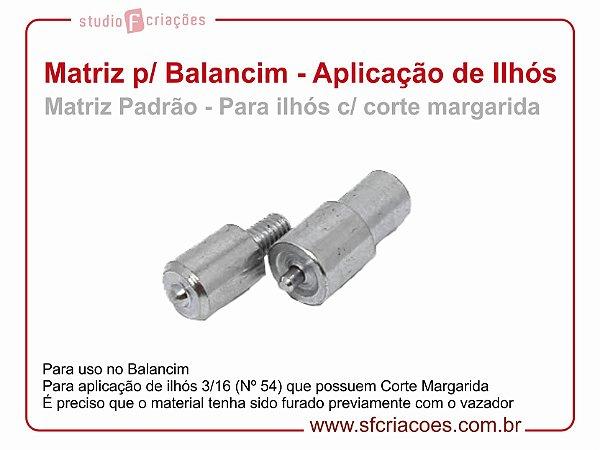 Matriz para Balancim - Aplicação de Ilhós 54