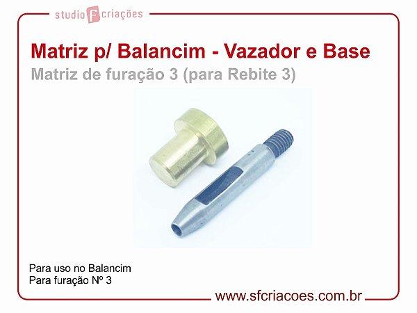 Matriz para Balancim - Vazador nº 3 e Base