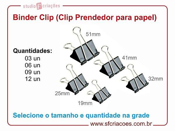 Binder Clip (Clip Prendedor para papel)