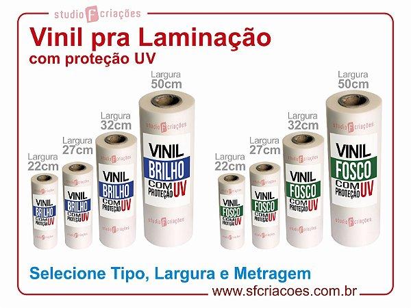 Vinil para Laminação com Proteção UV